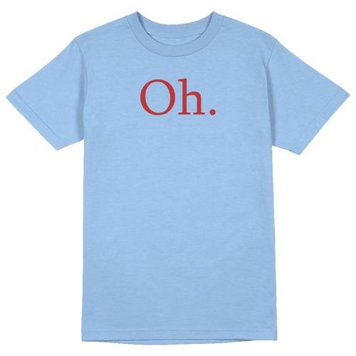 Oh. Round Collar Cotton Tshirt
