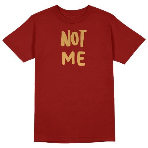Not Me Round Collar Cotton Tshirt