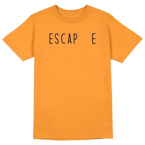 Escape Round Collar Cotton Tshirt