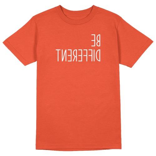 Be Different Round Collar Cotton Tshirt