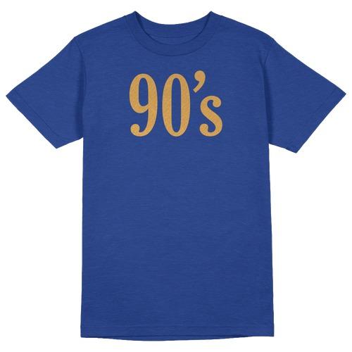 90s Round Collar Cotton Tshirt