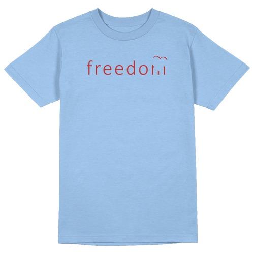 Freedom Round Collar Cotton Tshirt