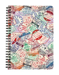 Crazy Traveler's Passport Notebook