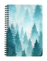Foggy Rain Forest Notebook