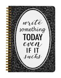 Write Something Notebook