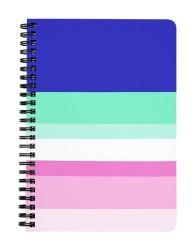 Blue Shades Pattern Notebook