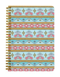Indian Pattern Print Notebook