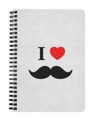 I Love Muchi Notebook