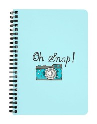 Oh Snap! Notebook