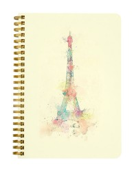 Paris Eiffel Tower Notebook