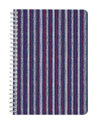 Abstract Jeans Notebook