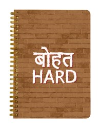 Bohot Hard Notebook
