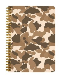 Brown Camouflage Notebook
