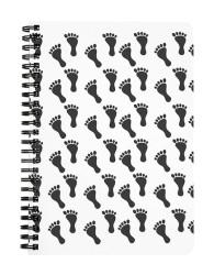 Footprint Pattern Notebook