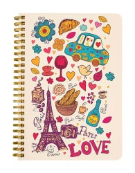 Paris Love Notebook