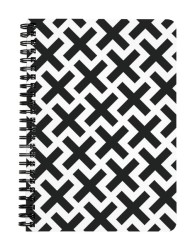 Plus Pattern Notebook