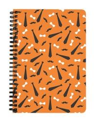 Tie Hipster Notebook