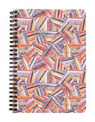 Abstract Embroidery Notebook