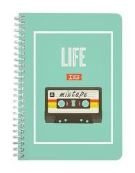 Life is a Mixtape Notebook