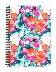 Watercolour Splash Notebook