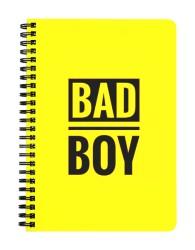 Bad Boy Notebook