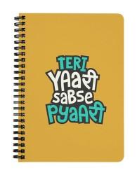 Teri Yaari Sabse Pyaari Notebook