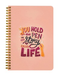 You Hold the Pen Notebook
