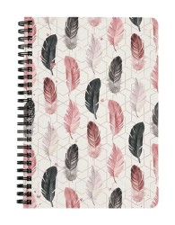 Feathers and Geometry Notebook