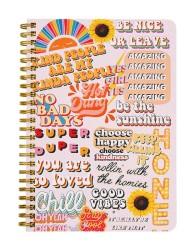 Happy Sticker Bomb Notebook