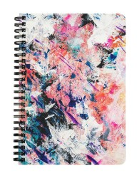 Messy Paint Job Notebook