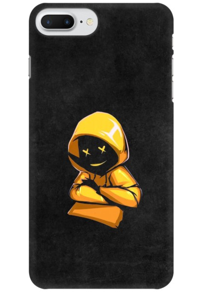 Yellow Hoodie Boy for Apple iPhone 7 Plus