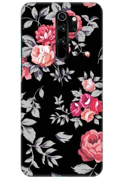 Black Floral for Redmi Note 8 Pro