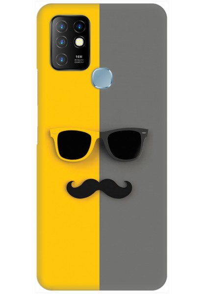 Sunglasses and Moustache for Infinix Hot 10