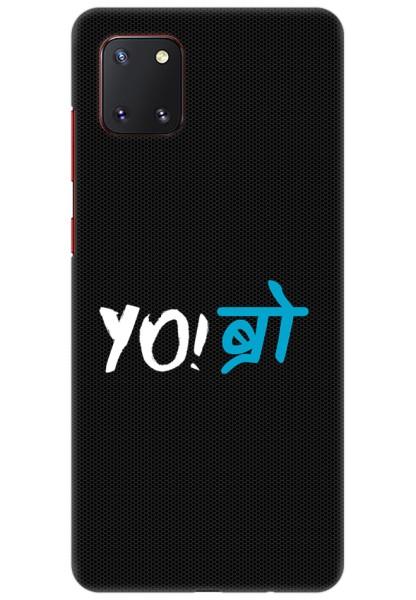 YO Bro for Samsung Galaxy Note 10 Lite
