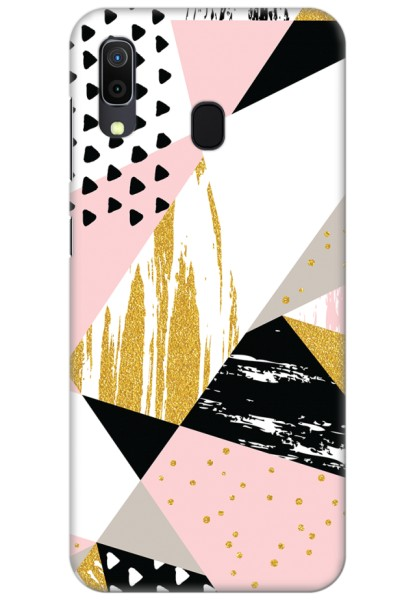 Geometric Shapes (Matte Finish) for Samsung Galaxy A30