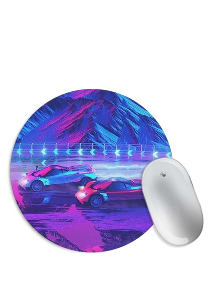 Vintage Supercars on Mountain Mouse Pad