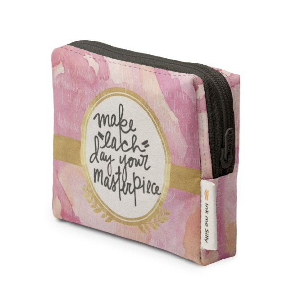 Make Each Day Your Masterpiece Coin Purse