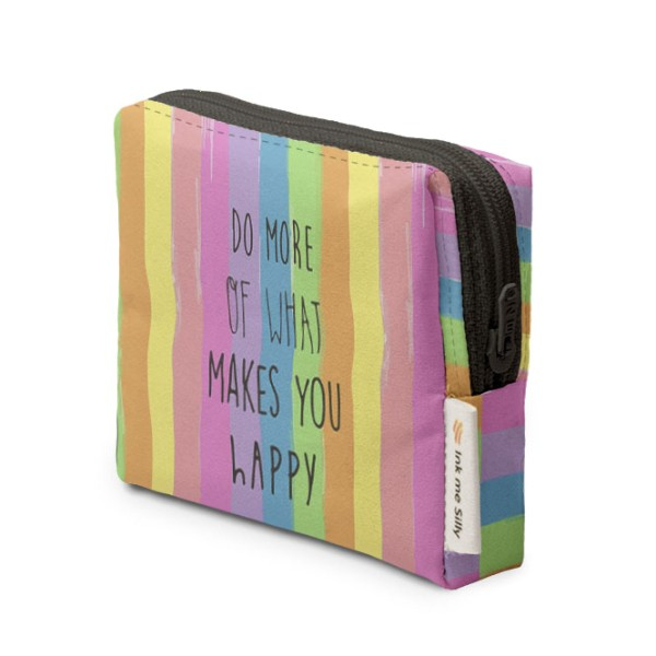 Do What Makes You Happy Coin Purse