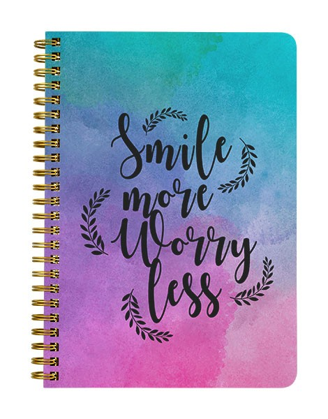 Smile More Notebook