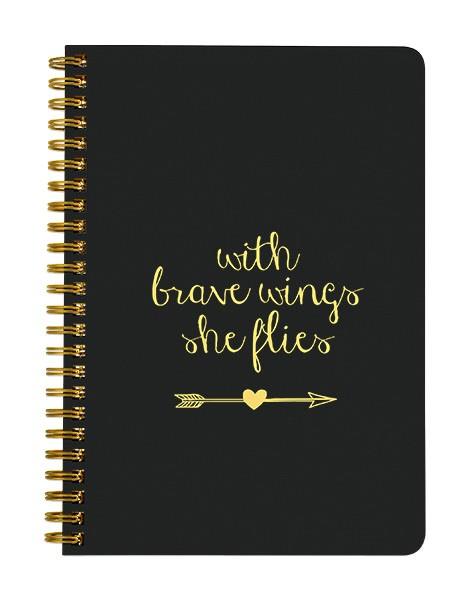 Brave Wings Notebook