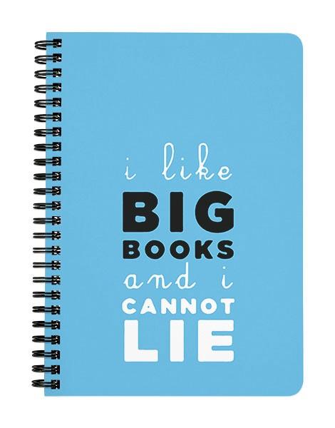 I like Big Books Notebook