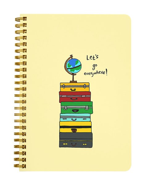 Lets go Everywhere Notebook