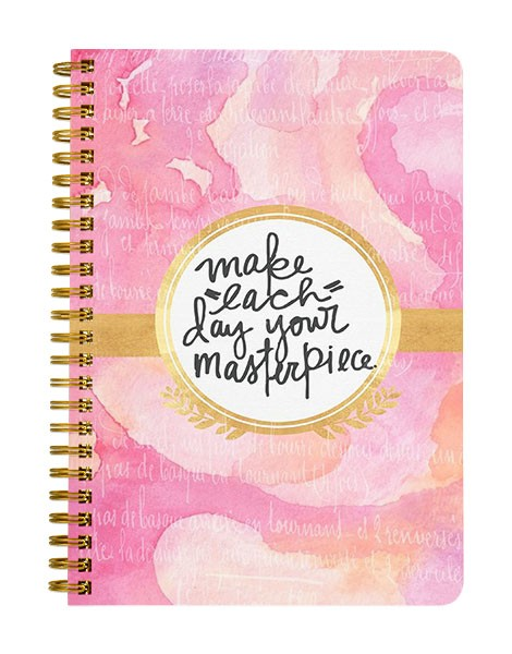 Make Each Day Your Masterpiece Notebook
